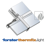 Sloped glazing Forster thermfix light EI30