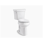 highline® comfort height® two-piece round-front 1.28 gpf chair height toilet with insulated tank