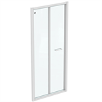 CONNECT 2 B/FOLD 90 UNHAND DOOR IC WHT CLEAR