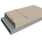 Mechanically Fastened Warm Roofing System with Sarnafil® TS-77 (single ply membrane)