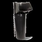 LIGHTCHUTE Plastic Rubble Chute - With top hopper