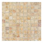 Arizona Tile Scabos 12x12 Inch Tumbled Travertine Mosaic Tile