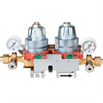 DAMAO Pressure regulator for double stage network