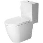 me by starck toilet close-coupled 217201