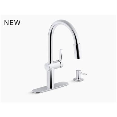 koi™ pull-down kitchen faucet