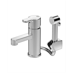 Nordic3 Washbasin mixer with side spray
