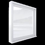 espace® o.c. 70 th window (side-hung,  tilt-turn) 1 leaf