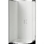 Funkia semicircular shower cabin 80 cm