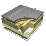 Catnic SSR2 Cold Roof - standing seam roof and wall cladding system