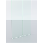 lindner life pure 620 | fully glazed partition with single glazing