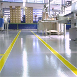 URETHANE TF Flooring system for milk industry