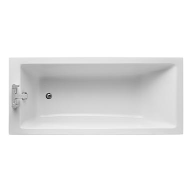 tempo cube 170x75cm idealform bath no handgrips no tapholes