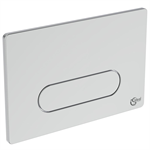 oleas m4 flush plate sngl white is