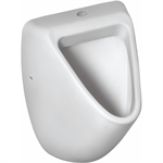 eurovit urinal 360x335mm, top inlet