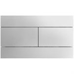 dual flush plate - 25.5 x 15.1cm