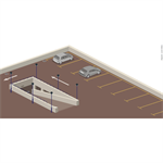 flat roofs accessible to vehicles with a concrete structural member in a low-land climate csfe - generic objects waterproofing