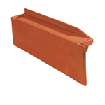 Q10 - Straight left side course / Rake - Mixed roof tile