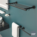 towel rack + towel holder 50cm techni-line