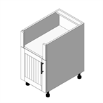 Appliance Cabinet Bartending Base- 2 Door: (OBC)