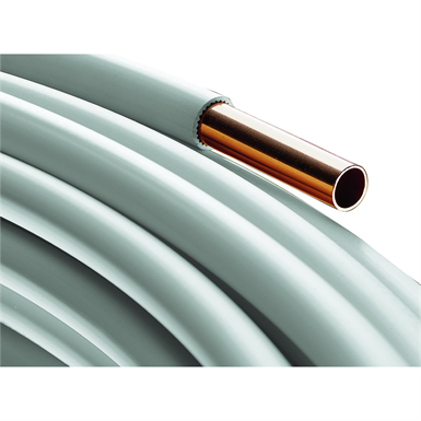 Coated copper tube