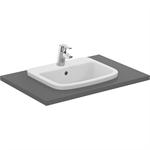 p_tempo 50cm countertop washbasin, 1 taphole