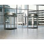Revolving Door - Curtain Panels KTV Framed-Glazed Glass-Roof-Range