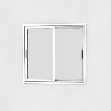fenêtre coulissant 2 vantaux