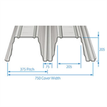 RoofDek D200 (Deep Deck) - Structural decking for roofs
