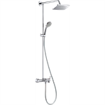 Raindance E Showerpipe 240 1jet EcoSmart 9 l/min with single lever bath mixer 27219000