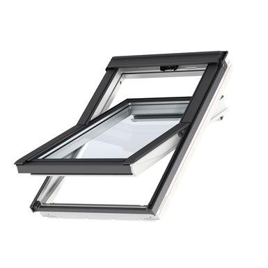 bottom operated std. polyurethane roof window centre-pivot - glu 0051b