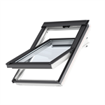 bottom operated std. polyurethane roofwindow centre-pivot - glu 0051b