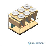 Quantech™ QCC3 Air-Cooled Scroll Condensing Unit, CAPACITY : 80-160 TR