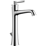 04772000 Joleena Single lever basin mixer 190 with lever handle and pop-up waste set