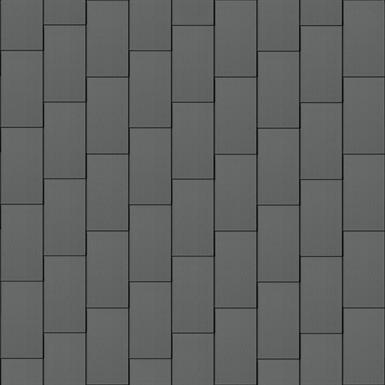 großraute fassade (600 mm x 1500 mm, vertikal, prepatina schiefergrau)