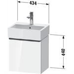 d-neo waschtischunterbau wandhängend de4217