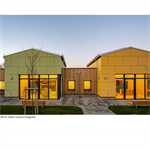 """hpl facade cladding 12mm """"duropal xterior compact - single-sided lacquering"""""""