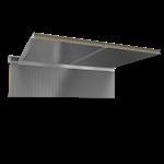 ceiling sandwich panels 2 steel facings mineral wool core