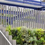 verticalia steel fence