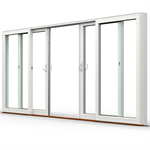 ND NTech Double Patio door
