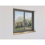 fenêtre coulissant 2 vantaux aluminium