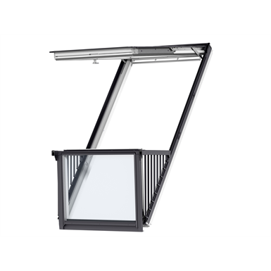 cabrio® pinewood roof window balcony - gdl