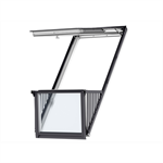 cabrio® pinewood roof window balcony - gdl