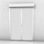 porte-fenêtre à frappe 2 vantaux bloc baie