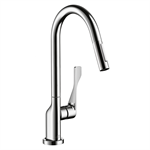 Axor Citterio 2-Spray HighArc Kitchen Faucet, Pull-Down 39835001