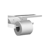 NUOVA Toilet roll holder with cover