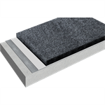 spray-applied waterproofing system for roofs, podiums and bridge decks with sikalastic®-851 r / 851