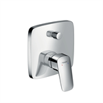Logis Single lever bath mixer for concealed installation 71405003