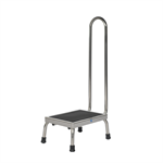 Pedigo Products P-10-A-SS Step Stool with Handrail