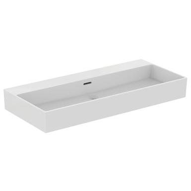 extra 100cm washbasin without tap holes