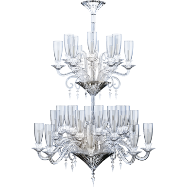 mille nuits chandelier 36l hurricane shade holders